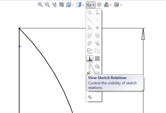 Sketch relations for expert users - Peter CAD